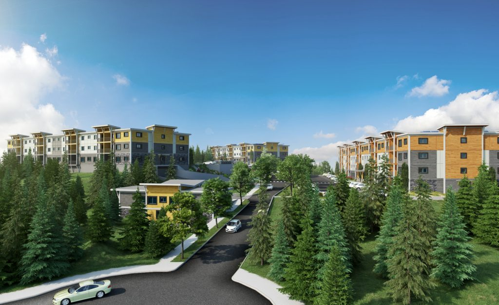 Rendering of Lakeview Terrace
